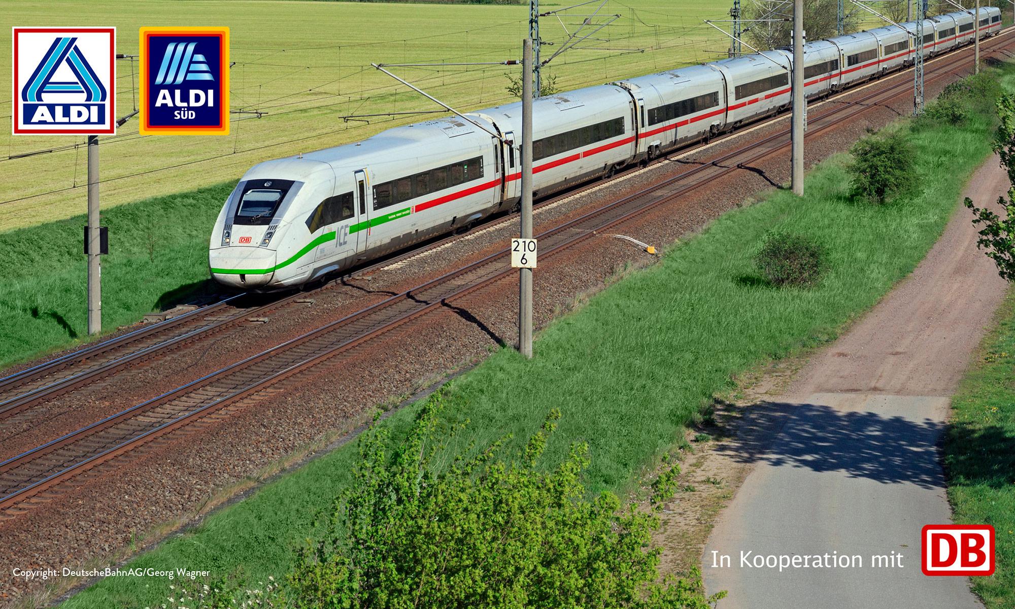 ALDI DB-Ticket