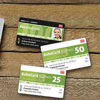 BahnCard 25, 50- und 100