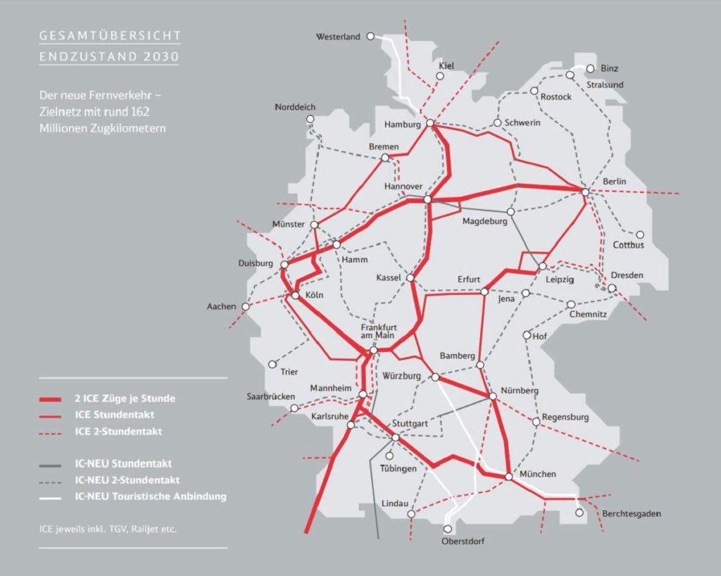 Der neue Fernverkehr - Zielnetz 2030