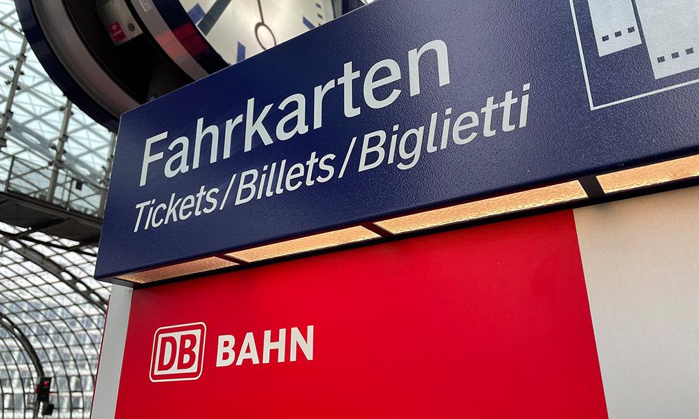 DB Fahrtkarten und Tickets
