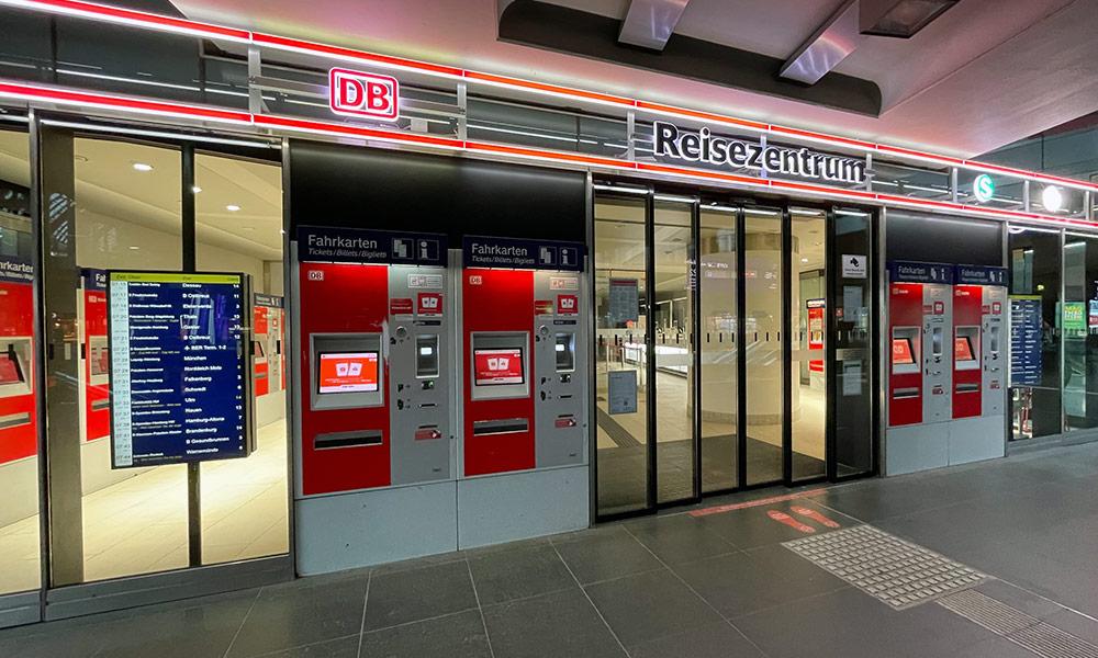 DB Reisezentrum Berlin Hauptbahnhof