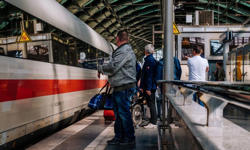 Deutsche Bahn Fahrgäste