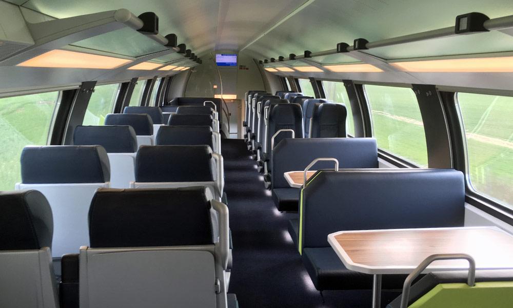 Sitzplatzreservierung im Intercity