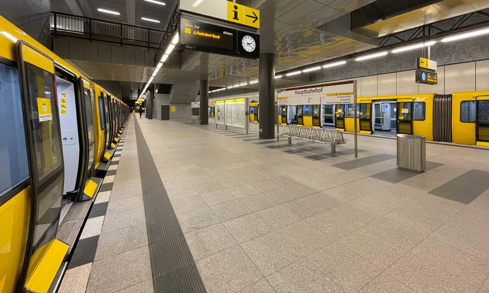 U-Bahn Berlin Hauptbahnhof